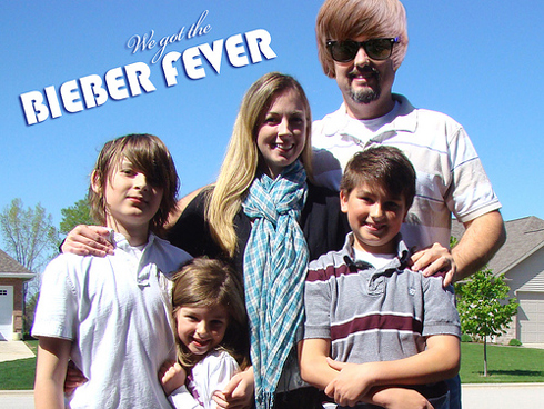 We got the Bieber Fever
